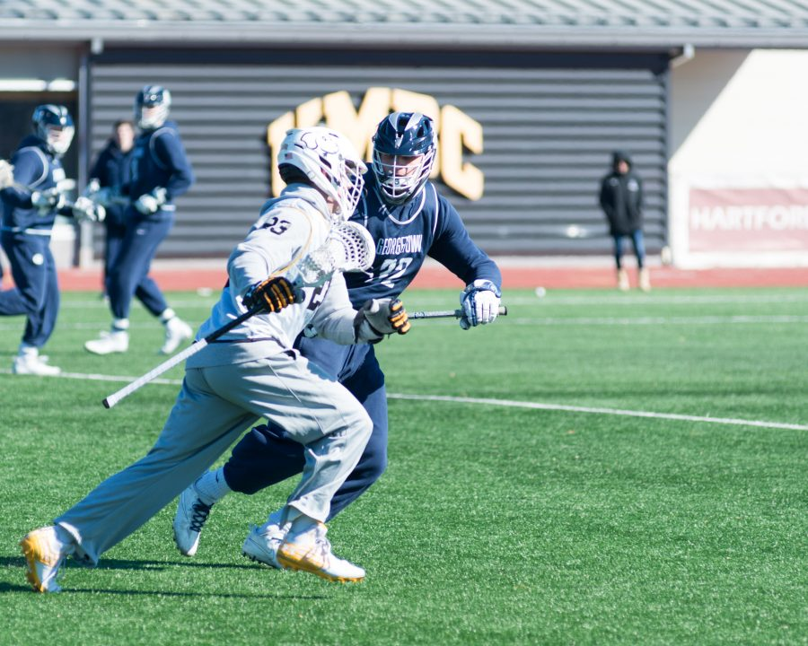 Offense stalls late as men's lacrosse falls 7-5 to Navy