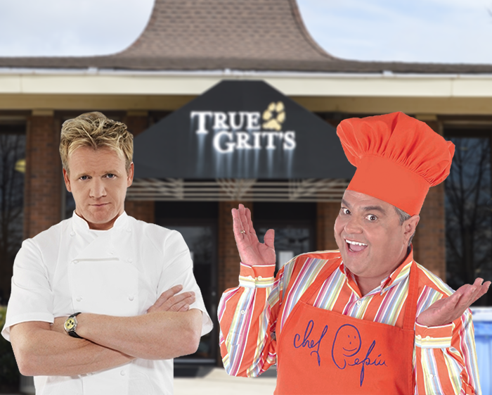 Gordon Ramsay and Jacques Pépin plan to take over as chefs of True Grit's Dining Hall