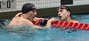 Retrievers swim team break three school records at ECAC Championship