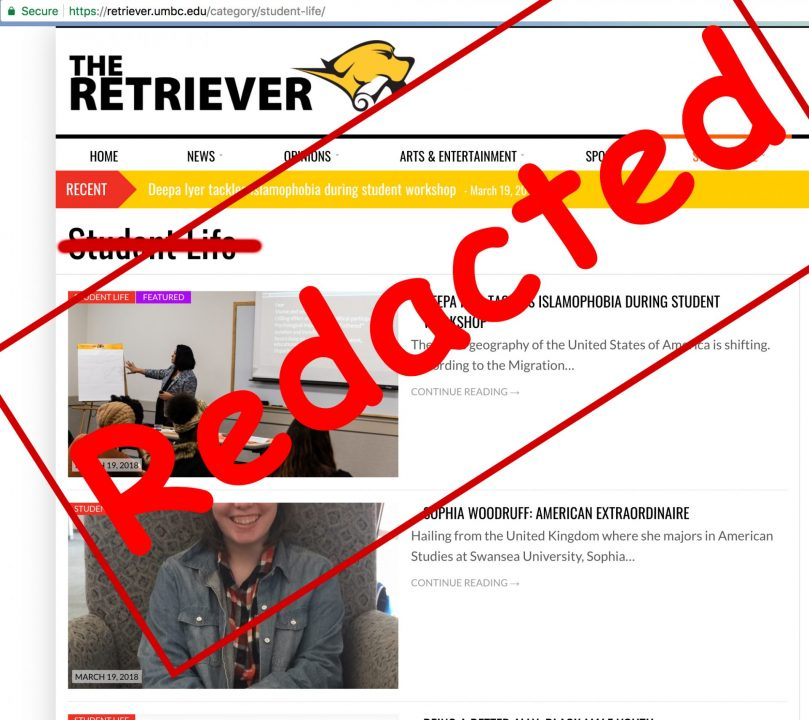 The Retriever to cut student life section; former writers to be fed to sharks