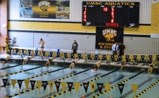 Swimming and diving team causes splash at Patriot Invitational