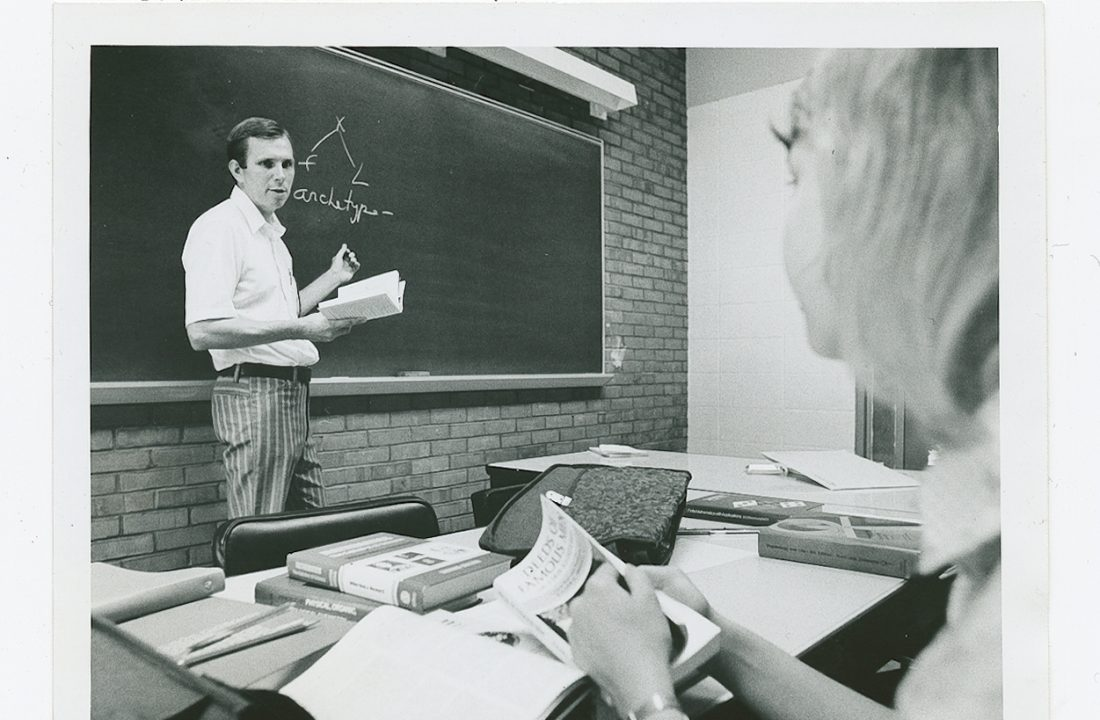 Remembering founding faculty member Walter Sherwin