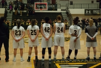 Three-point arc not kind to women's basketball in quarterfinals loss