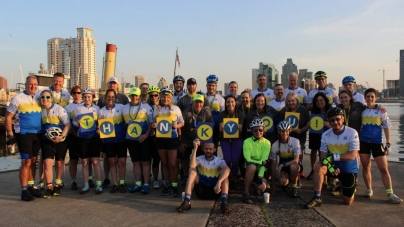 Cyclists journey from Baltimore to Key West to support young adults with cancer