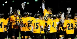 Men's lacrosse faces off for first time without legendary coach Zimmerman