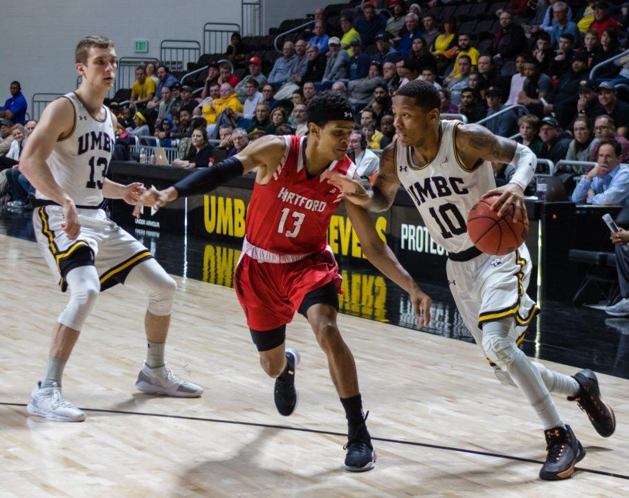 Don't Stop Retrievin'! : Men's basketball advances to the America East Championship