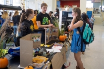 At Harvest Fest, economically sustainable condoms, organic food and pumpkin spice