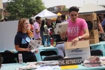 Involvement Fest perseveres despite heat