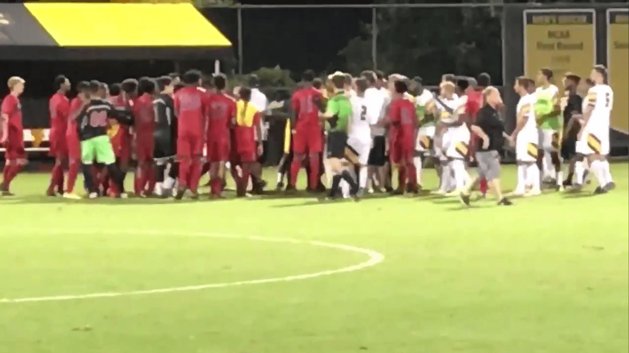 Tempers flare for men's soccer against Howard