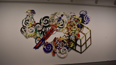 Al Loving's spirals put a spin on abstract art