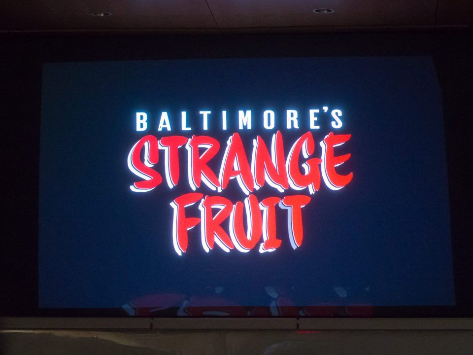 """Strange Fruit"": A documentary on food shortage in Baltimore"