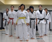 Tae kwon do demo team debuts
